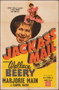 Movie Posters:Western, Jackass Mail (MGM, 1942). Folded, Fine. One Sheet ...