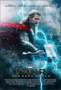 "Thor: The Dark World (Walt Disney Studios, 2013). Rolled, Very Fine+. One Sheets (2) (27"" X 40"") DS Advance, 2..."