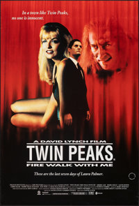 """Twin Peaks: Fire Walk with Me (Guild Film Distribution, 1992). Rolled, Very Fine-. British One Sheet (27"""" X 40""""..."""