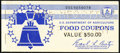Complete $50 Series 1975A Food Stamp Specimen Booklet Choice Crisp Uncirculated