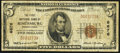 Rimersburg, PA - $5 1929 Ty. 1 The First National Bank Ch. # 6676 Very Good-Fine