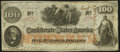 Confederate Notes:1862 Issues, T41 $100 1862 PF-26 Cr. UNL. Extremely Fine.. ...