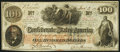 Confederate Notes:1862 Issues, T41 $100 1862 PF-25 Cr. 318A About Uncirculated.. ...