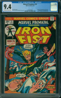 Marvel Premiere #15 (Marvel, 1974) CGC NM 9.4 OFF-WHITE TO WHITE pages