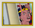 Prints & Multiples, Roy Lichtenstein (1923-1997). Reflections on Minerva, 1990. Lithograph, screenprint and relief print in colors, with met...