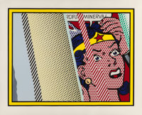 Roy Lichtenstein (1923-1997) Reflections on Minerva, 1990 Lithograph, screenprint and relief print i