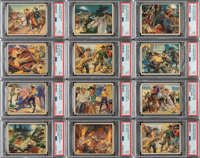 1940 Lone Ranger High-End Collection (93) With 20 PSA Graded Cards