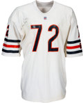 "Football Collectibles:Uniforms, 1985 William ""Refrigerator"" Perry Super Bowl XX Game Worn & Signed Chicago Bears Rookie Jersey with Multiple Photo Matches...."