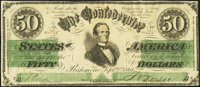 CT16 $50 1861 Counterfeit Extremely Fine