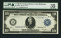 Fr. 921 $10 1914 Federal Reserve Note PMG Choice Very Fine 35