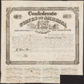 Confederate Notes:Group Lots, Ball 259 Cr. 128A $100 1863 Bond Fine.. ...