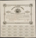 Confederate Notes:Group Lots, Ball 106 Cr. 95 $1,000 1861 Bond Very Fine.. ...