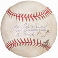 Autographs:Baseballs, 2006 Joe Torre Single Signed, Game Used and Inscribed 1,00...