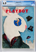 Magazines:Miscellaneous, Playboy #5 (HMH Publishing, 1954) CGC FN 6.0 White pages....