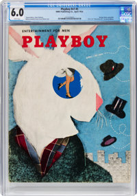 Playboy #5 (HMH Publishing, 1954) CGC FN 6.0 White pages