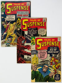 Tales of Suspense #44, 46, and 48 UK Editions Group (Marvel, 1963).... (Total: 3 Comic Books)