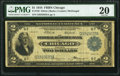 Fr. 729 $1 1918 Federal Reserve Bank Note PMG Very Fine 20