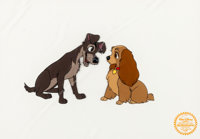 Lady and the Tramp Limited Edition Serigraph Cel (Walt Disney, 1955)
