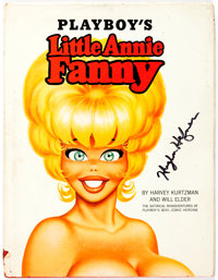 Playboy's Little Annie Fanny First Edition Signed by Hugh Hefner (Playboy Press, 1966)