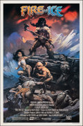 Movie Posters:Animation, Fire and Ice (20th Century Fox, 1983). Rolled, Very Fine.