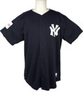 Baseball Collectibles:Uniforms, 2004 Kenny Lofton Game Worn New York Yankees Batting PracticeJersey From Japanese Exhibition. At the onset of the 2004 Maj...