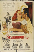 "Movie Posters:Adventure, Scaramouche (MGM, 1952). One Sheet (27"" X 41""). Adventure...."