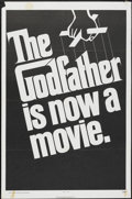"Movie Posters:Crime, The Godfather (Paramount, 1972). One Sheet (27"" X 41"") Advance Teaser. Crime...."