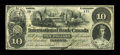 Canadian Currency: , Toronto, ON- International Bank of Canada $10 June 1, 1859 Ch. 380-12-02. ...