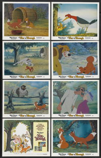"The Fox and the Hound (Buena Vista, 1981). Lobby Card Set of 8 (11"" X 14""). Animated.... (Total: 8 Items)"