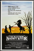 """The Man from Snowy River (20th Century Fox, 1982). Poster (40"""" X 60""""). Western"""