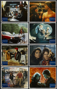 "Starman (Columbia, 1984). Lobby Card Set of 8 (11"" X 14""). Science Fiction"