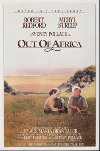 """Out of Africa & Other Lot (Universal, 1985). Folded, Fine+. One Sheets (5) (27"""" X 41"""") Advance. Drama..."""