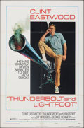 """Movie Posters:Crime, Thunderbolt and Lightfoot & Other Lot (United Artists, 1974). Folded, Fine/Very Fine. One Sheets (3) (27"""" X 41"""") Style C, Ro... (Total: 3 Items)"""