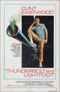 """Thunderbolt and Lightfoot & Other Lot (United Artists, 1974). Folded, Fine/Very Fine. One Sheets (3) (27"""" X 41&..."""