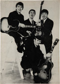 Music Memorabilia:Posters, The Beatles July 1964 Stockholm, Sweden Concert Program....