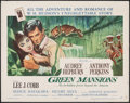 "Movie Posters:Drama, Green Mansions (MGM, 1959). Rolled, Fine+. Half Sheet (22"" X 28"") Style B, Joseph Smith Artwork. Drama.. ..."