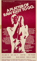 """Music Memorabilia:Posters, Iggy & The Stooges 1973 Vancouver, B.C. """"Raw Power"""" Concert Poster...."""