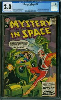 Mystery in Space #53 (DC, 1959) CGC GD/VG 3.0 Slightly brittle pages