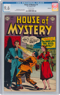 House of Mystery #4 Bethlehem Pedigree (DC, 1952) CGC NM+ 9.6 Off-white pages