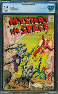 Mystery in Space #54 - CBCS CERTIFIED (DC, 1959) CGC GD+ 2.5 Off-white to white pages