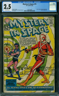 Mystery in Space #75 (DC, 1962) CGC GD+ 2.5 OFF-WHITE pages