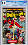 Bronze Age (1970-1979):Superhero, Marvel Spotlight #32 Spider-Woman (Marvel, 1977) CGC NM/MT 9.8 Off-white to white pages....