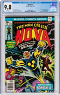 Bronze Age (1970-1979):Superhero, Nova #1 (Marvel, 1976) CGC NM/MT 9.8 White pages....