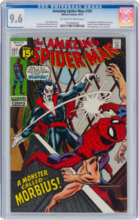 The Amazing Spider-Man #101 (Marvel, 1971) CGC NM+ 9.6 Off-white to white pages