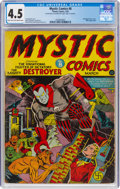 Golden Age (1938-1955):Superhero, Mystic Comics #8 (Timely, 1942) CGC VG+ 4.5 Light tan to off-white pages....