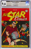 Golden Age (1938-1955):Superhero, All Star Comics #29 Mile High Pedigree (DC, 1946) CGC NM+ 9.6 White pages....