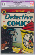 Golden Age (1938-1955):Superhero, Detective Comics #66 (DC, 1942) CGC Apparent VF+ 8.5 Moderate (P) Cream to off-white pages....