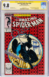 The Amazing Spider-Man #300 Signature Series Signed by Todd McFarlane (Marvel, 1988) CGC NM/MT 9.8 Off-white to white pa...