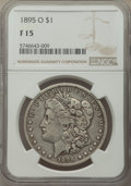 Morgan Dollars: , 1895-O $1 Fine 15 NGC. NGC Census: (199/4953). PCGS Population: (335/6622). CDN: $210 Whsle. Bid for NGC/PCGS Fine 15. Mint...