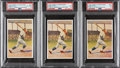 Baseball Cards:Lots, 1932 Sanella Margarine Babe Ruth PSA-Graded Trio (3) - Three Different Types.... (Total: 3 items)
